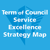 Term of Council Service Excellence Strategy Map link image